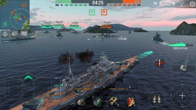DownloadWorld of Warships Blitz for PC or Mac OS X