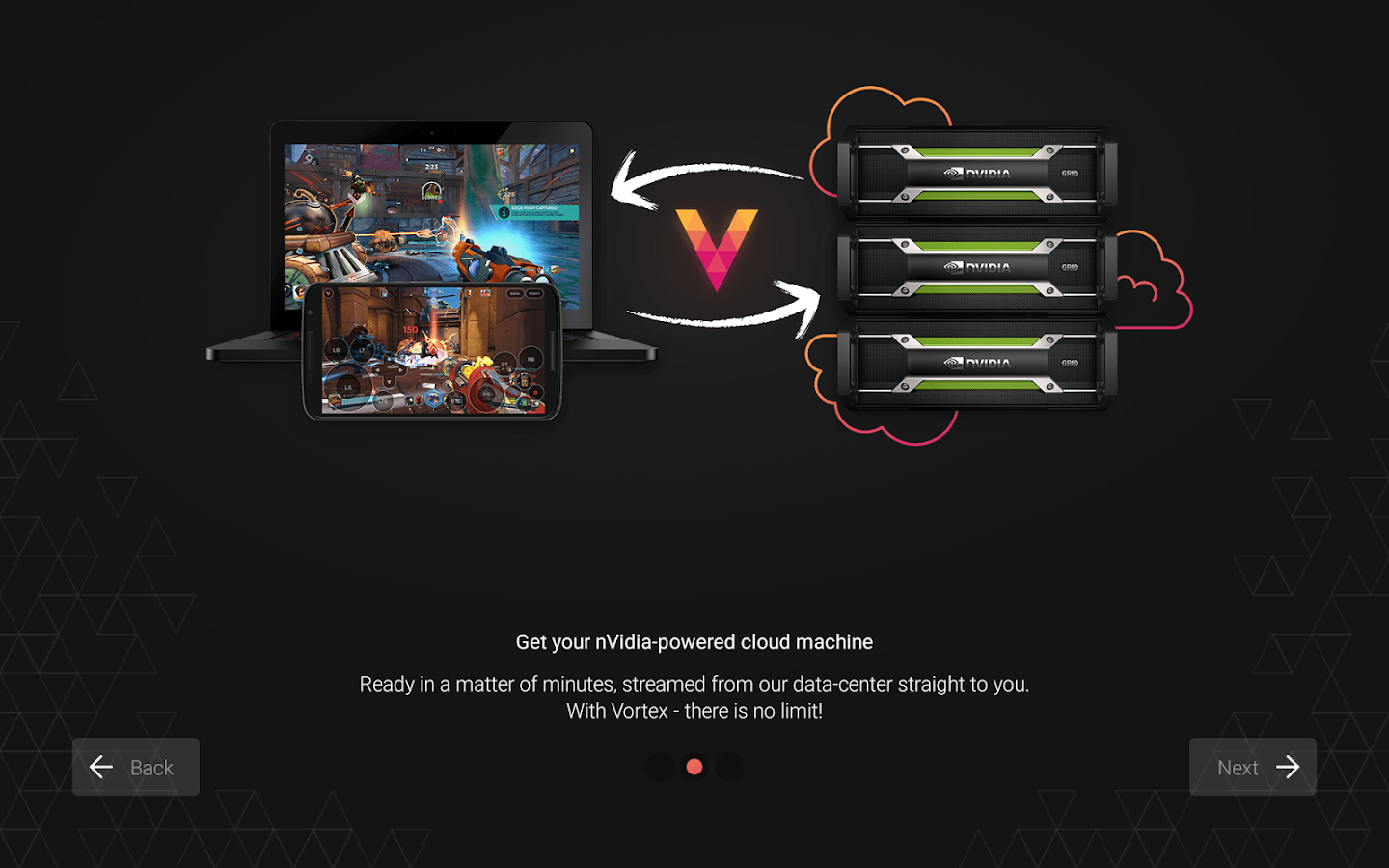 Download Vortex Cloud Gaming for PC and Mac